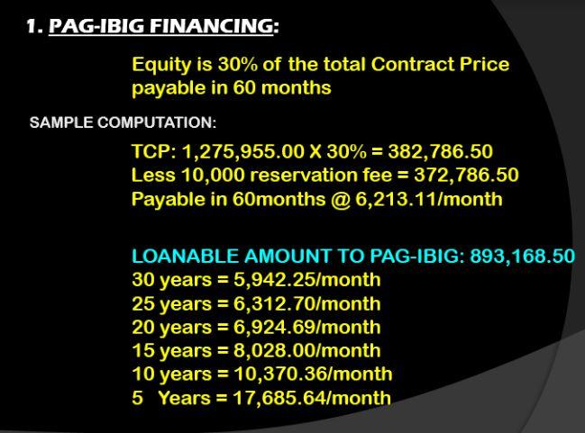 My Homes Perelos financing 3