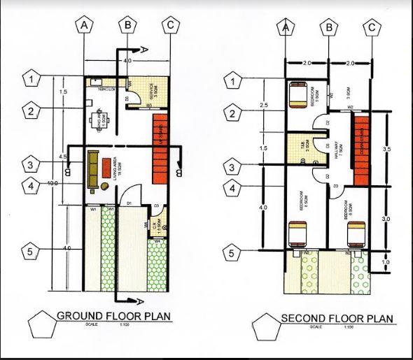 My Homes Perlos Floor Plan