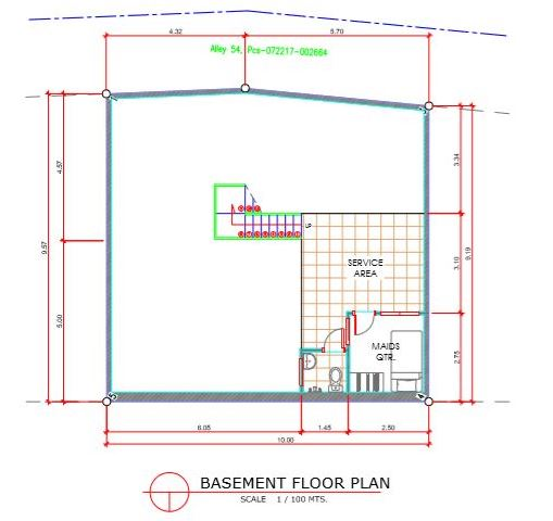 Amirra Residences Busay floor plan basement