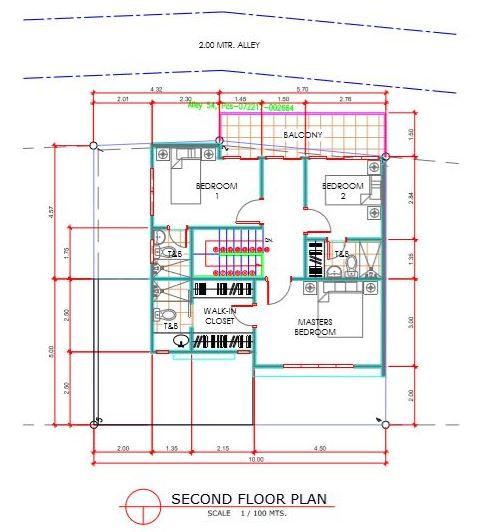 Amirra Residences Busay floor plan second
