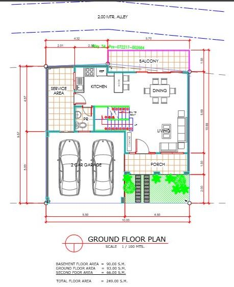 Amirra Residences floor plan ground