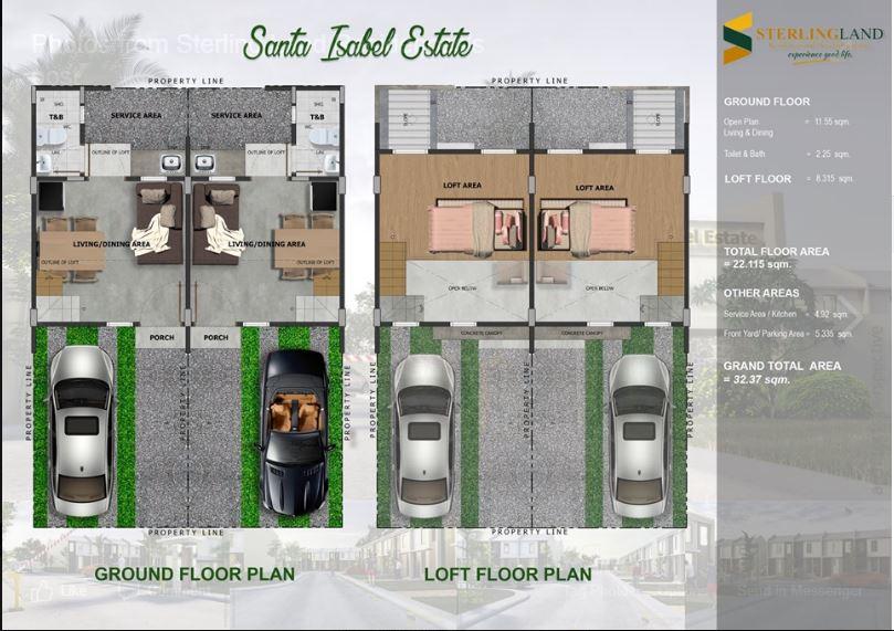 Sta Isabel Carcar floor plan