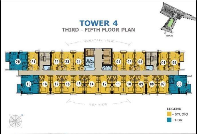Casa Mira Towers Mandaue Tower 4 floor plan