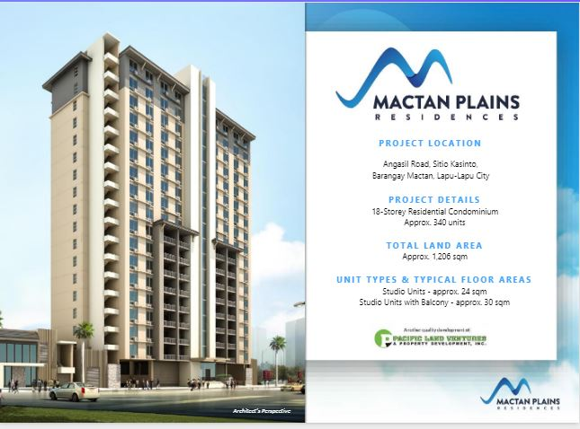 Mactan Plains Residences location