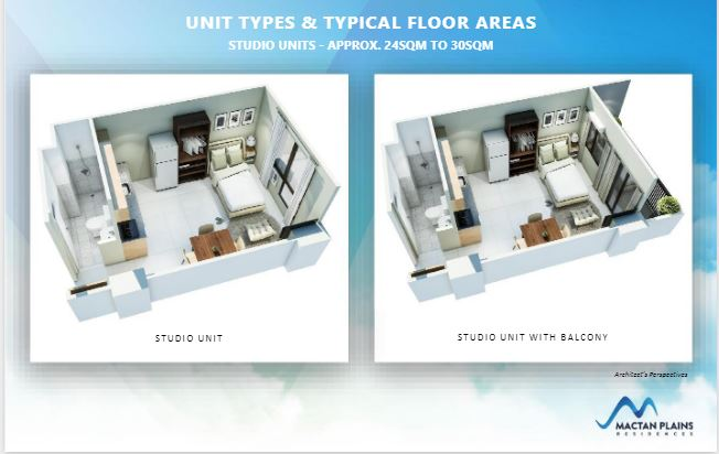 Mactan Plains Residences typical floor plan