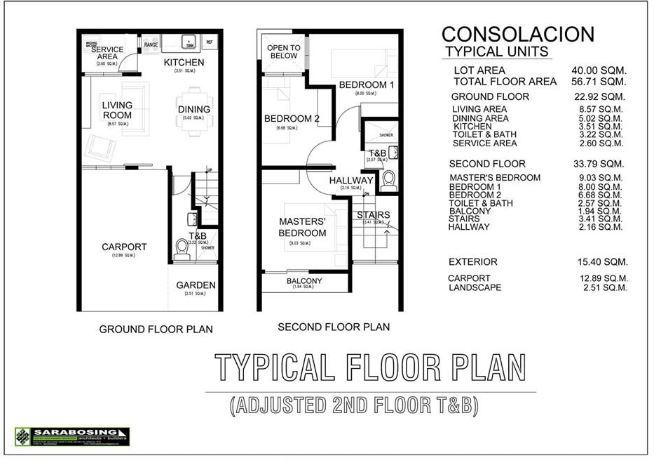 Robins Lane floor plan 2