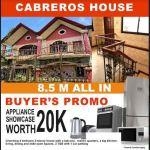 House and Lot at Cabreros, Cebu. . .